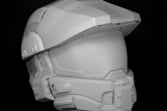 Halo, le casque moto du Master Chief