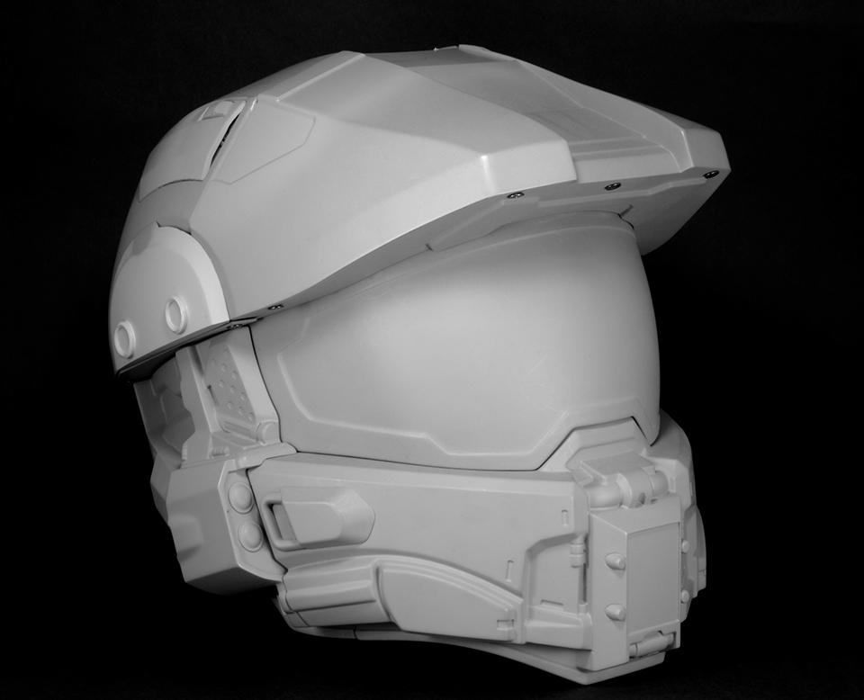 Casque moto Halo Master Chief