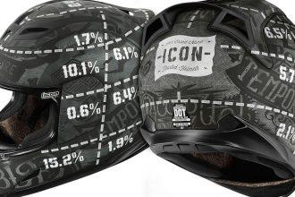 Le casque Icon Airfraime Statistic sous toutes les coutures