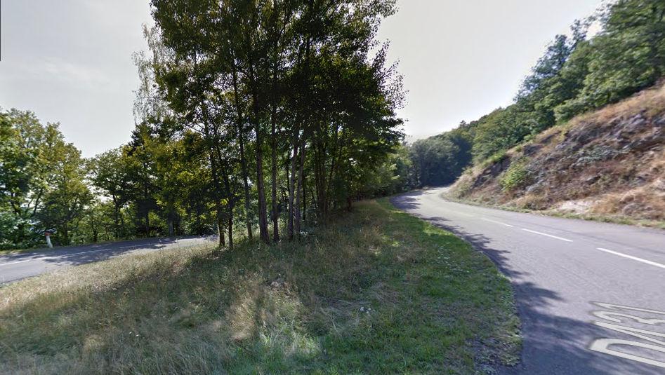 La route des crêtes des ballons d'Alsace (Haut Rhin)