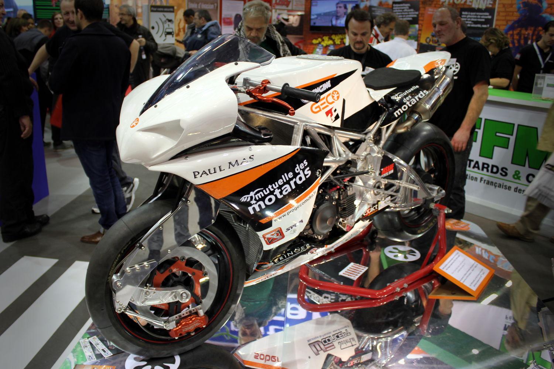La GECO telle qu'on pouvait l'admirer au Salon de la Moto de Paris