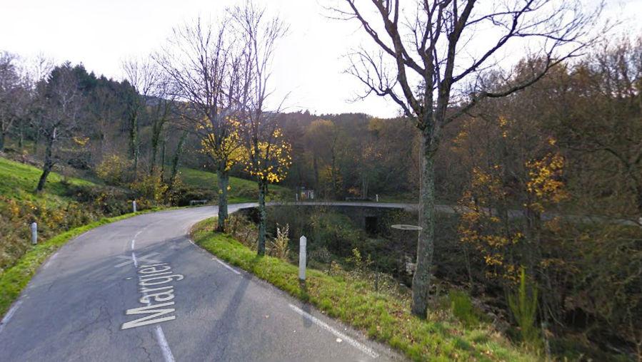 La route de Lamastre à partir de Valence (Ardèche)