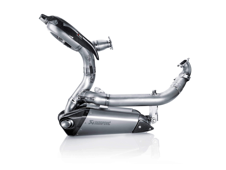 La ligne Akrapovic titane Evolution pour Ducati Panigale_side