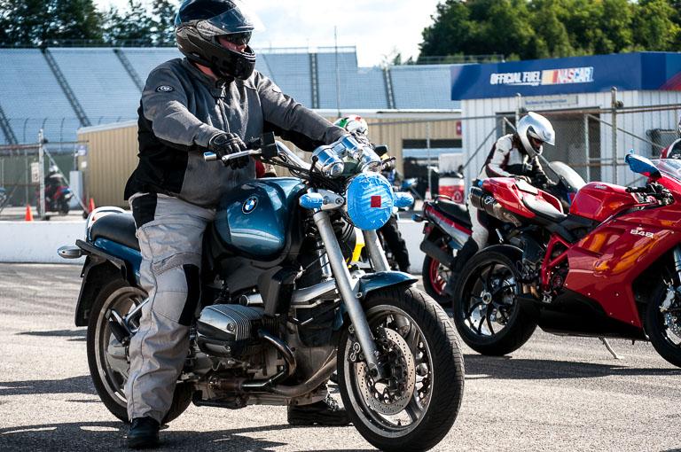 Presque toutes les motos peuvent rouler sur piste