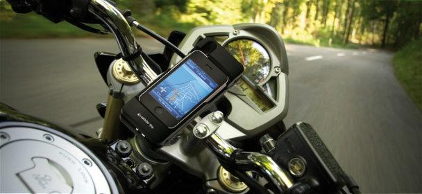 Quelles applis pour partir en balade prolongée à moto ?