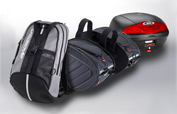 dossier bagagerie moto quel type pour quelle utilisation. Black Bedroom Furniture Sets. Home Design Ideas