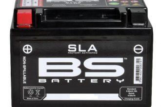 Batterie moto SLA par BS Battery