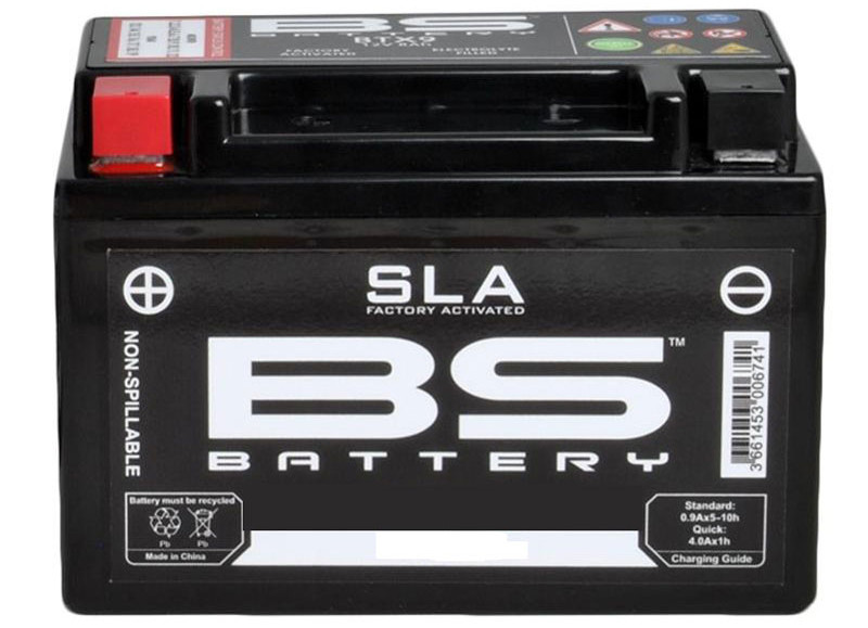 Batterie moto SLA par BS Battery