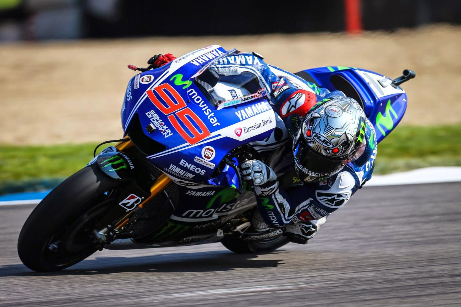 Lorenzo à Indianapolis, arborant le RPHA 10 Speed Machine