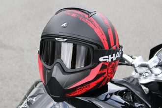 Le casque Shark Vancore, quel look !