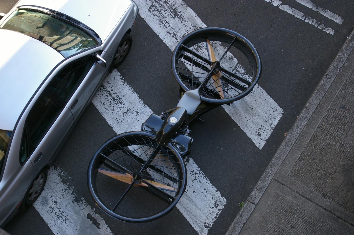 Le premier prototype de Hoverbike