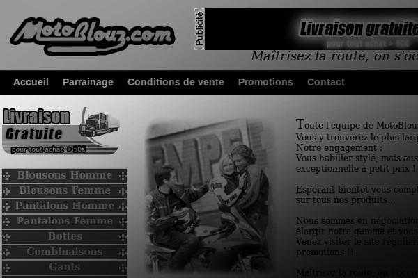 Motoblouz,, en 2004 !
