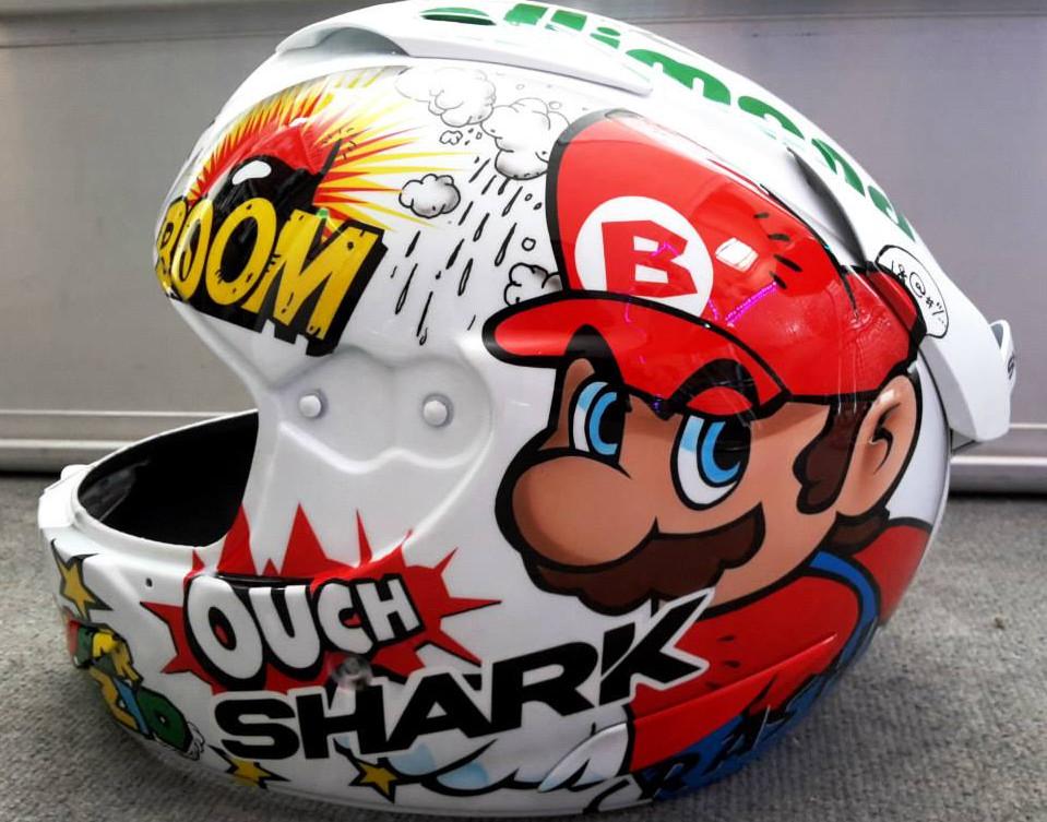Déco perso Mario pour Loris Baz