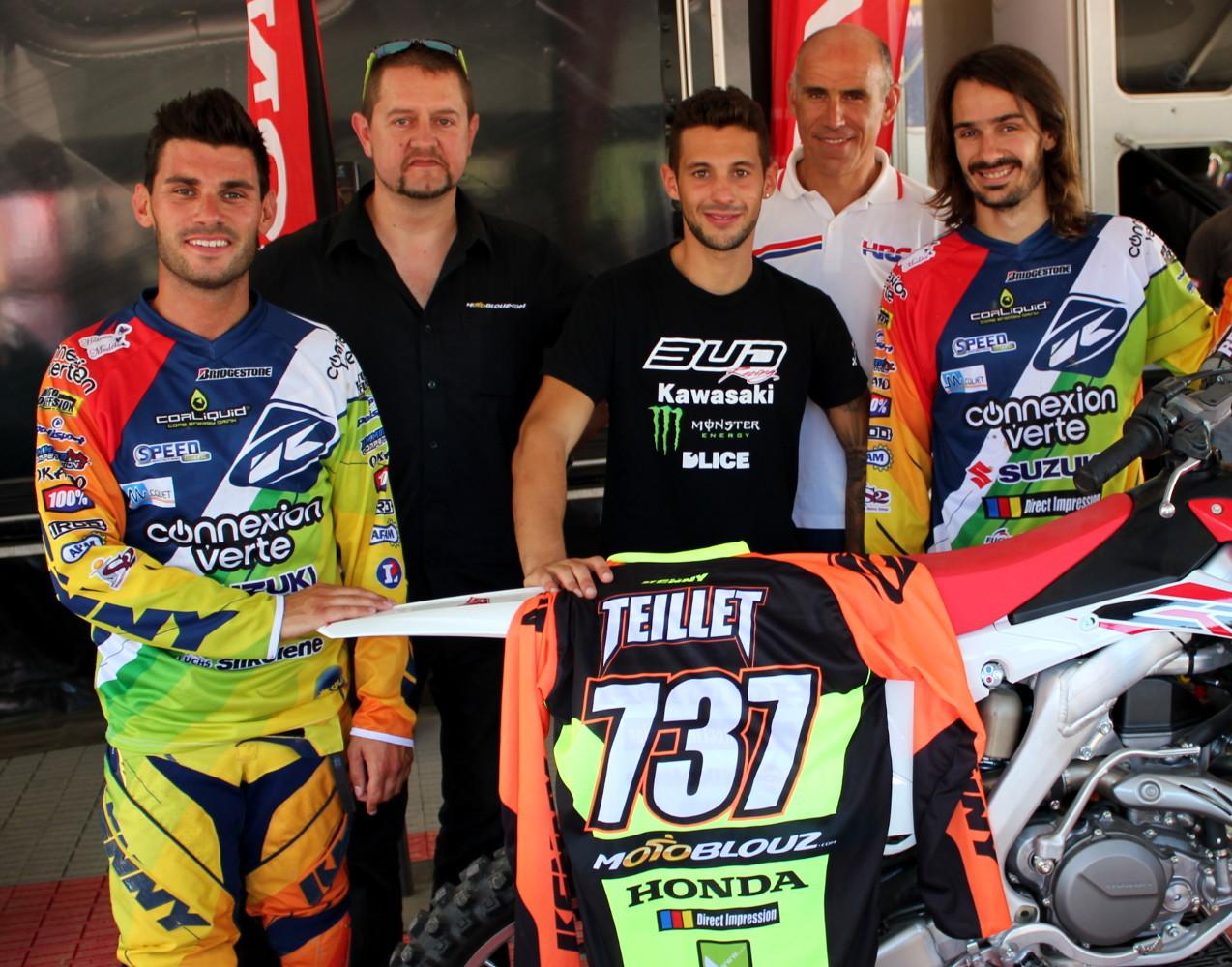 Team SR Motoblouz : Avec Valentin Teillet !