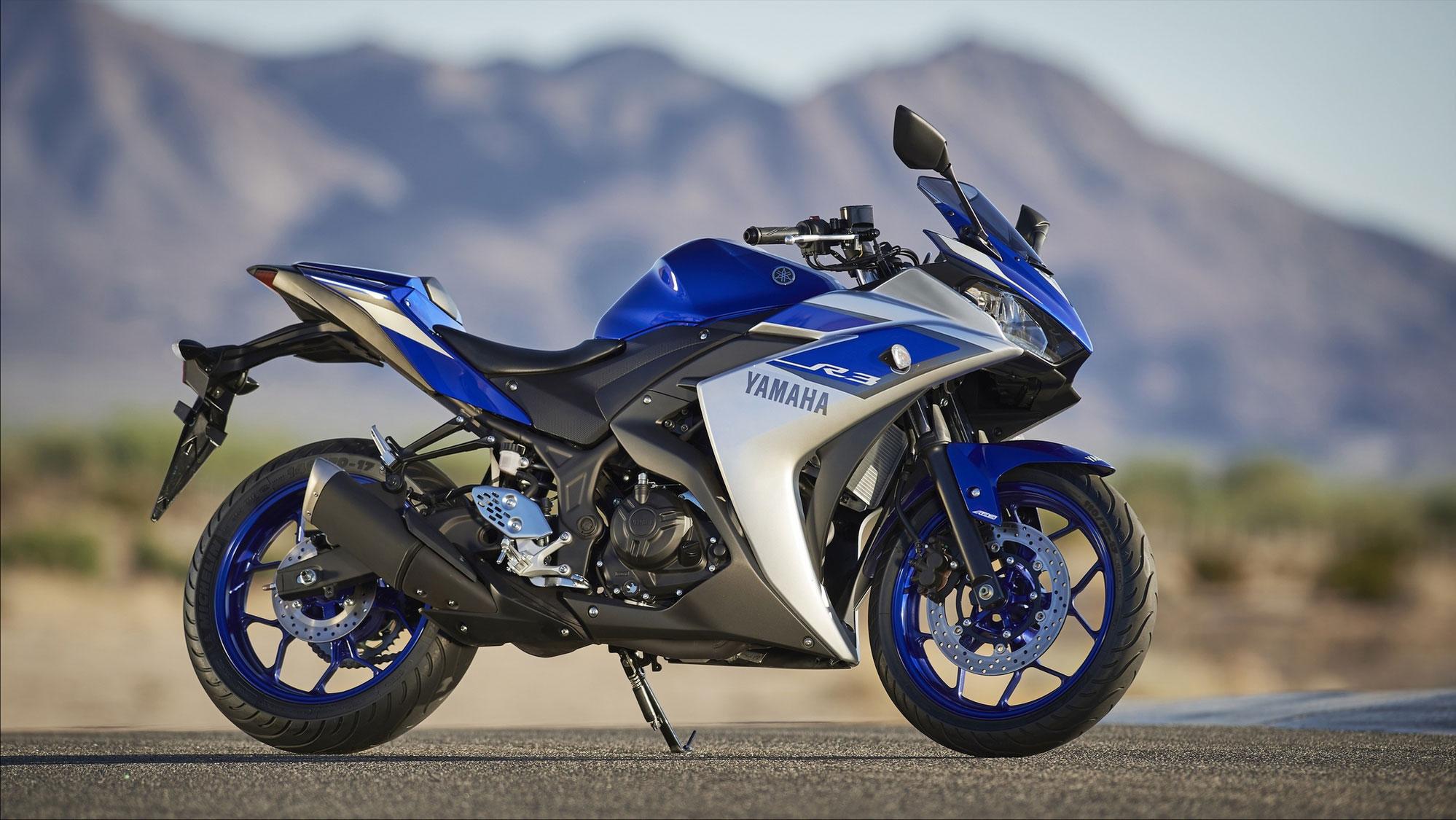 La Yamaha YZF-R3, nouvelle venue de dans les créneau des 300 cm³