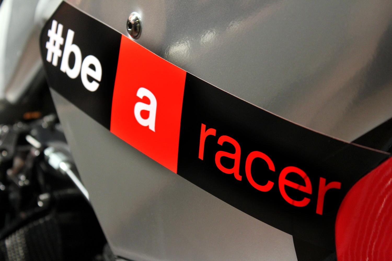Be A racer, le sloggan racing d'Aprilia