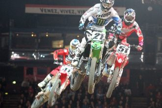 Le Team SR en Supercross