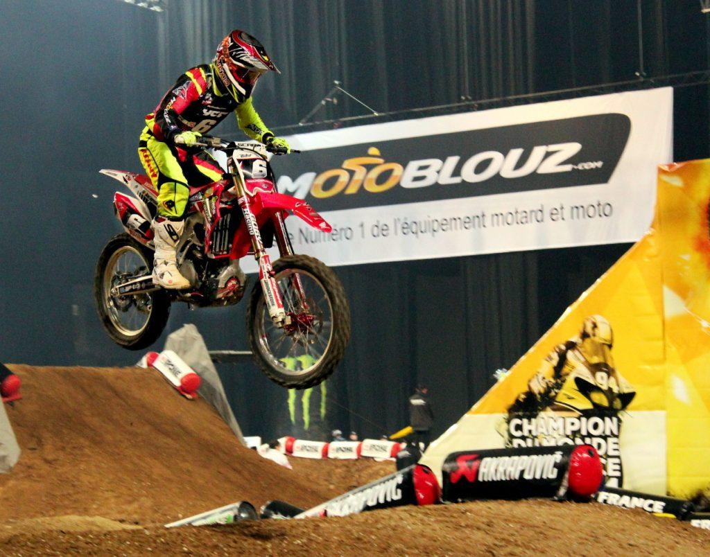 Le Team SR Motoblouz au Supercross de Bercy