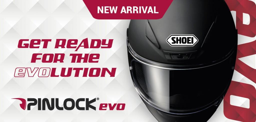 Le Pinlock EVO prendra place sur les casques Shoei dès 2015