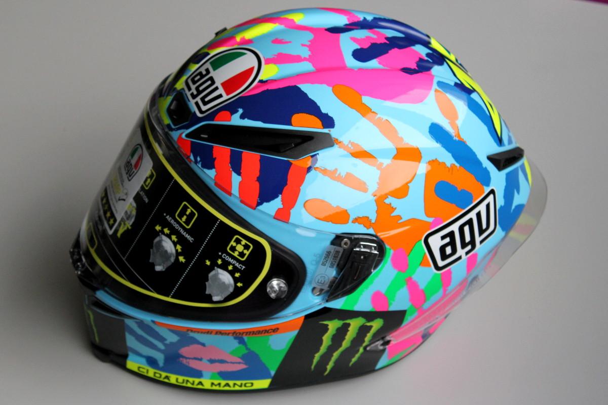 Le casque AGV Corsa Misano 2014