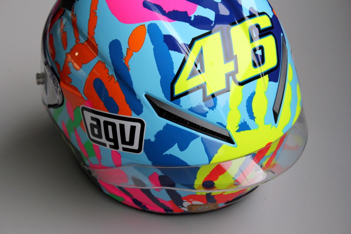 Le logo 46, incontournable des décos replica Rossi