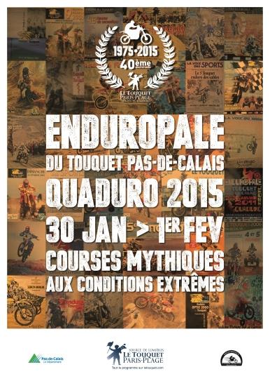 Affiche de l'Enduropale 2015