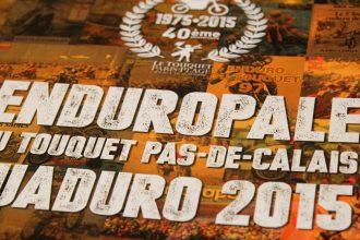 Le programme de l'Enduropale 2015