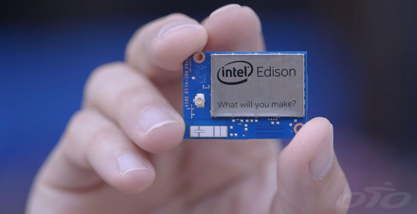 Le mini ordinateur Intel Edison. Rikiki !