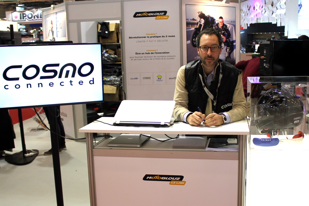 Charles Pingree, fondateur de Cosmo Connected