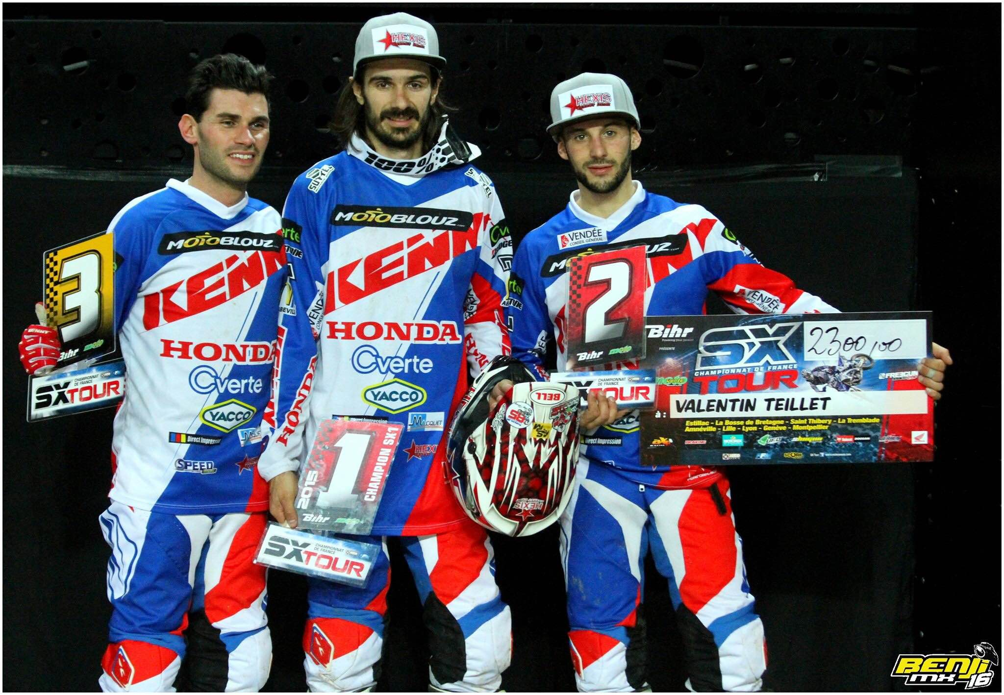 Le Team SR Motoblouz au top !