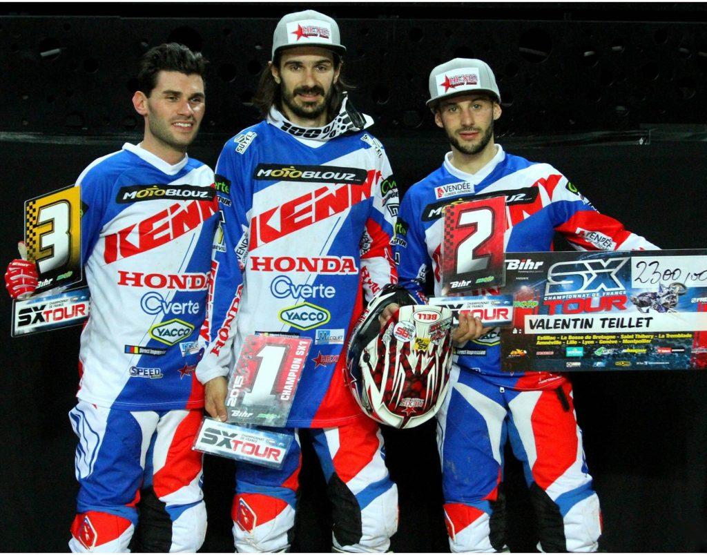 Le Team SR Motoblouz cartonne !