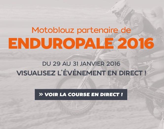 Motoblouz partenaire de l'Enduropale 2016