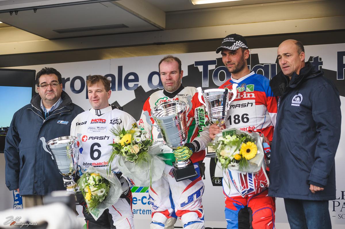 Podium 2016 : 1/ Yves Deudon, 2/ Arnaud Demeester, 3/ Alexandre Morel