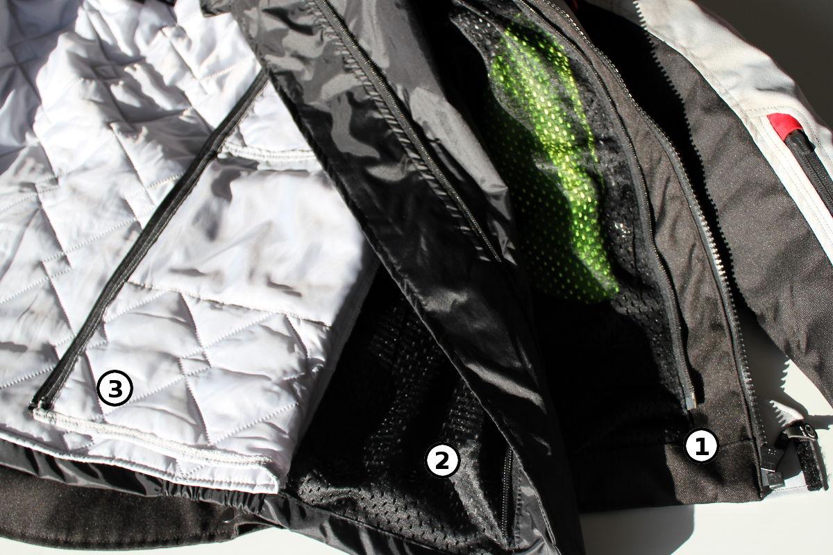 Essai veste Clover Savana Waterproof : Veste moto 3 en 1