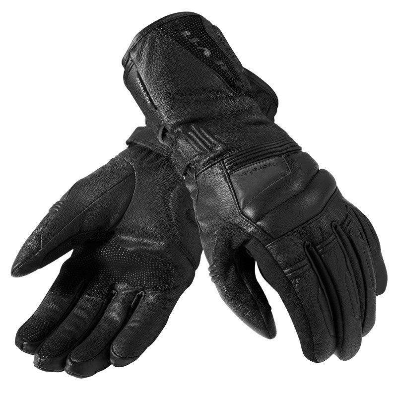 Des gants hiver à manchette longue