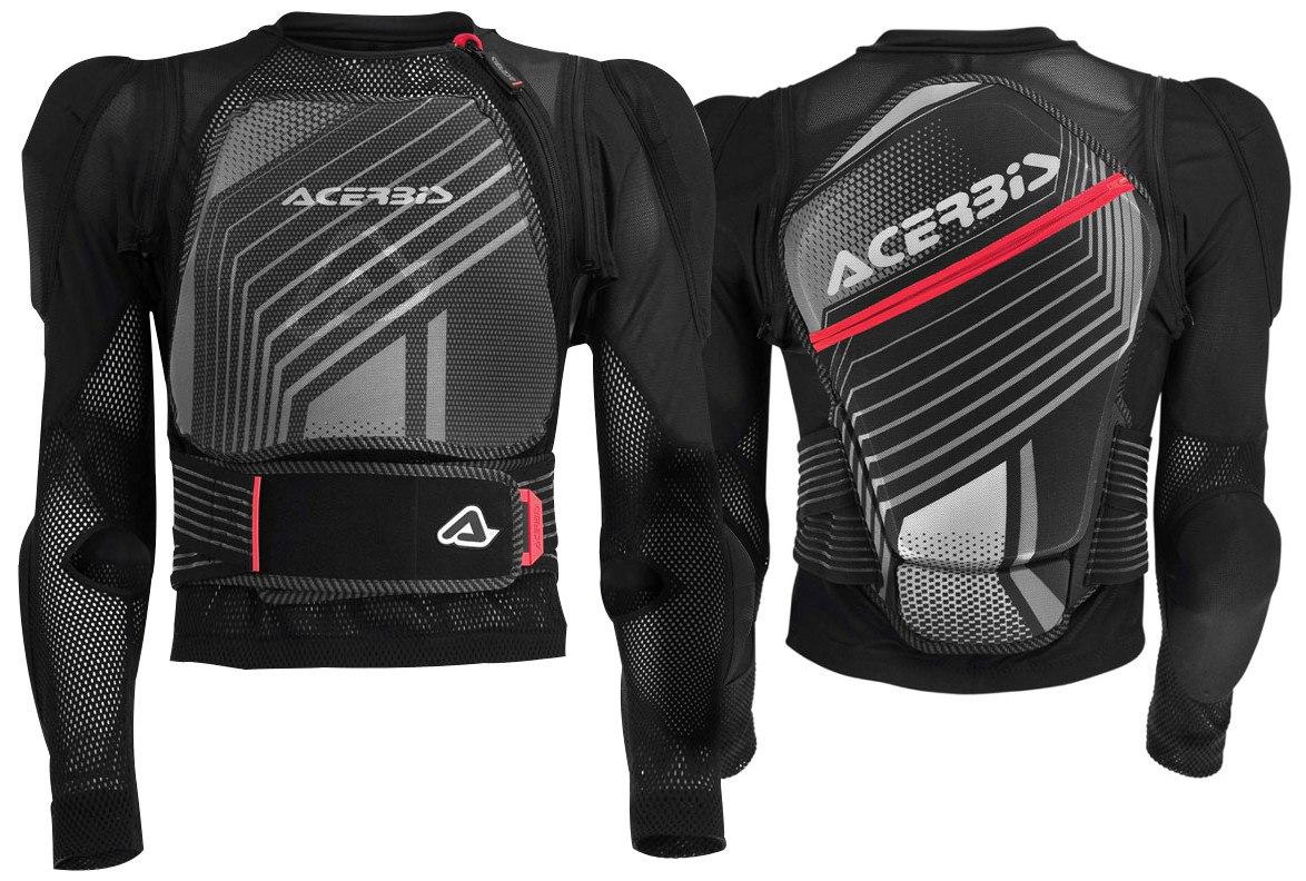Le gilet Acerbis MX Jacket Soft 2.0 équipé de ses manches