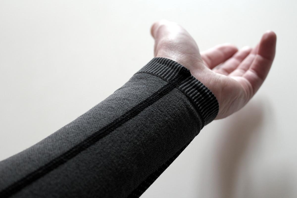 La longueur des manches est parfaite pour mes grands bras