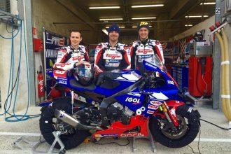 Le Team LMD 63 Moto-Jouranl aux 24h du Mans 2016, sponsorisé par Motoblouz