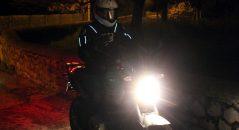 Aperçu du Bering Luminous sur la moto