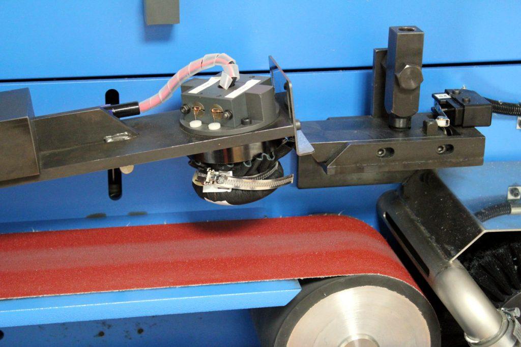 La machine dédiée aux tests d'abrasion du Motion Lab