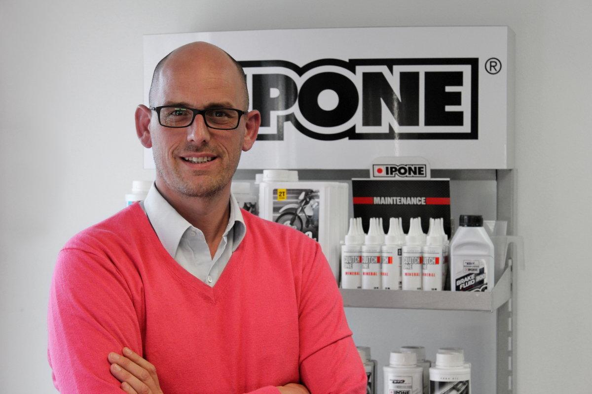 """Frédéric Olivier, Directeur d'IPONE : """"Notre vraie mission, ce n'est pas de vendre de l'huile moto, c'est plutôt de faire pratiquer les gens"""""""