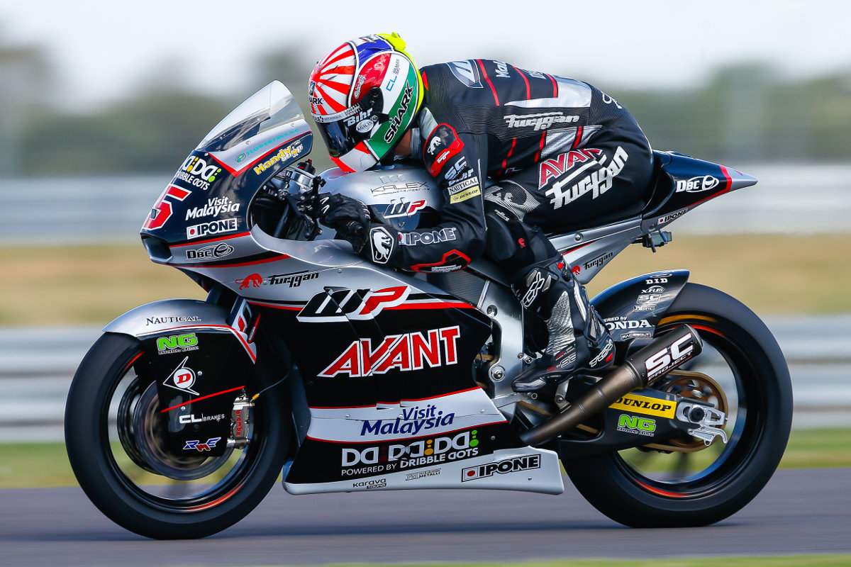 Johann Zarco, égérie IPONE qui brille cette année encore en Moto2