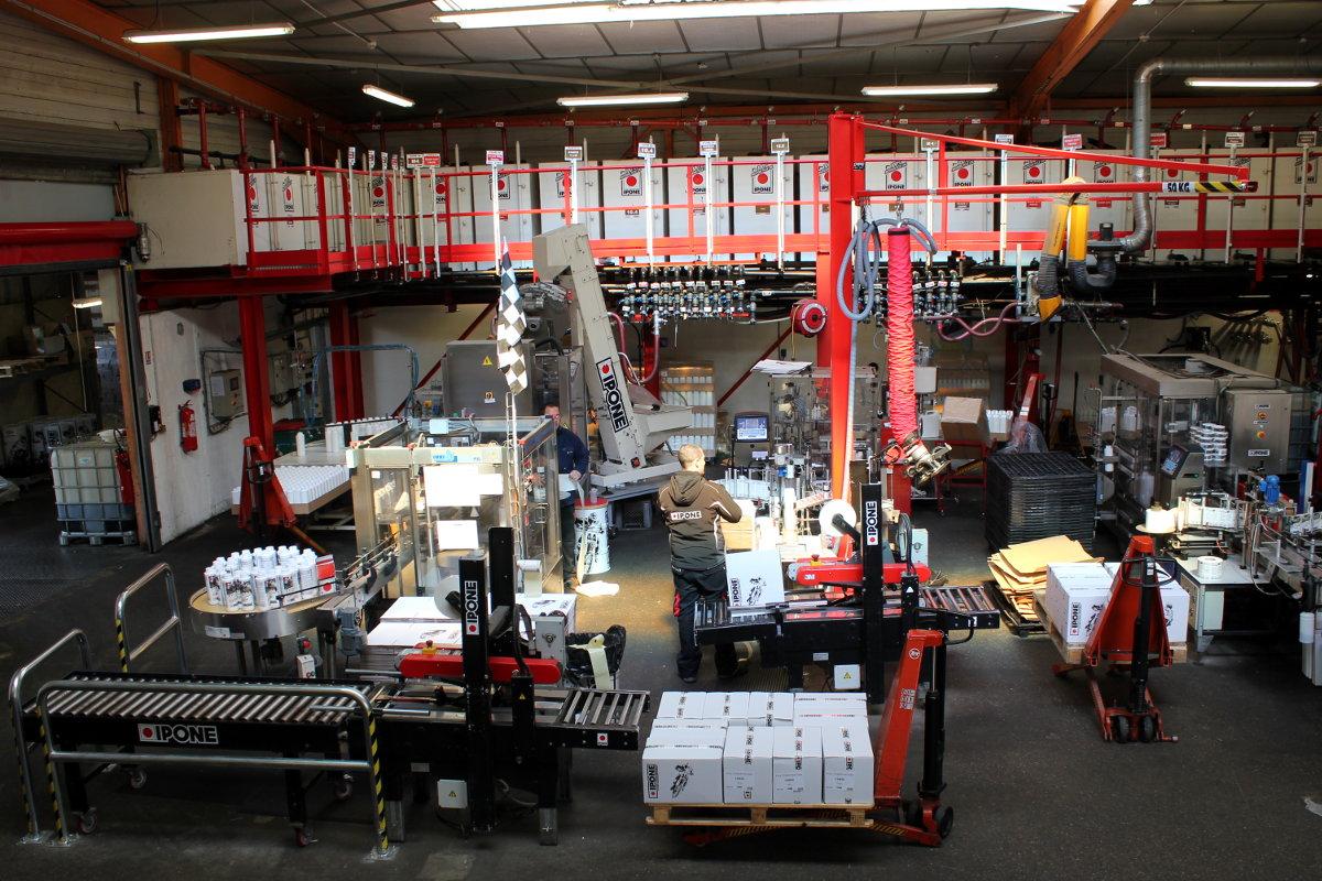 La zone de conditionnement, cœur de l'usine