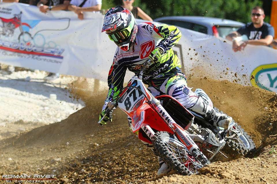 Fabien Izoird au Supercross de Maricourt, l'année dernière