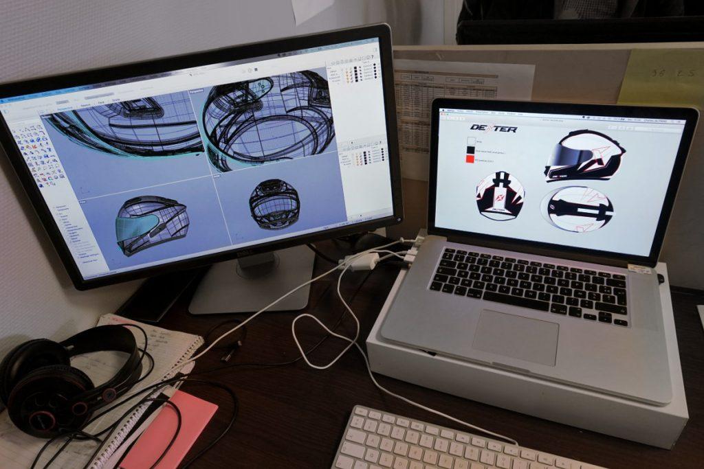 Le développement de l'écran fait lui aussi appel à la conception 3D