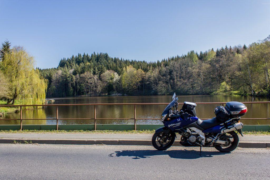 Un petit lac sympa avant de passer la frontière entre la République Tchèque et l'Allemagne