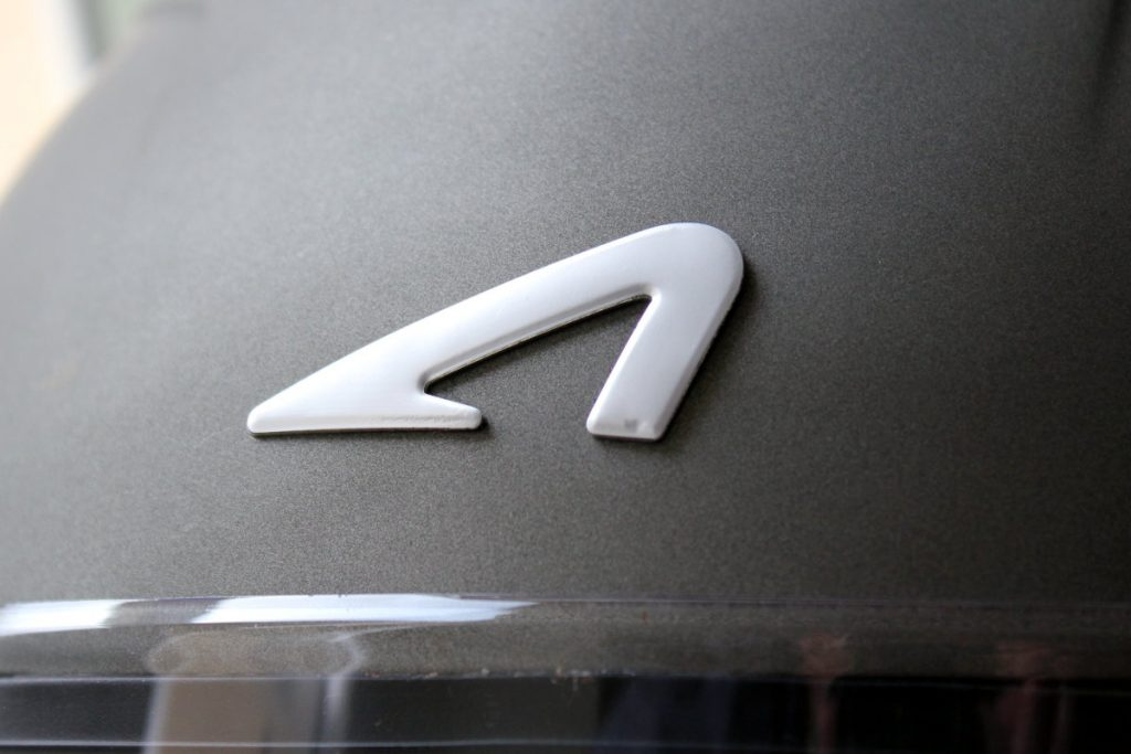Détail du logo Astone