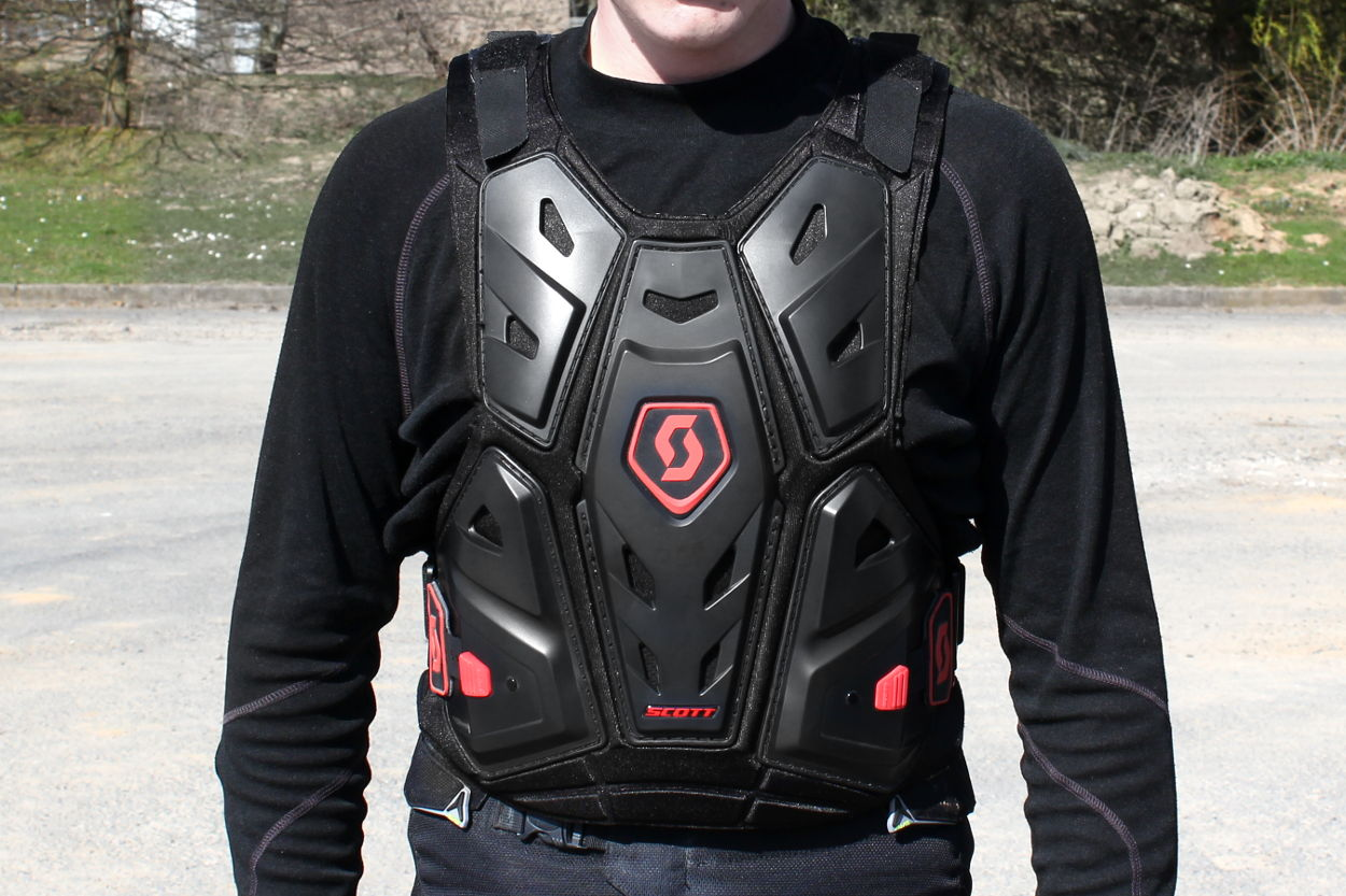 Le plastron Scott Commander Body Armor