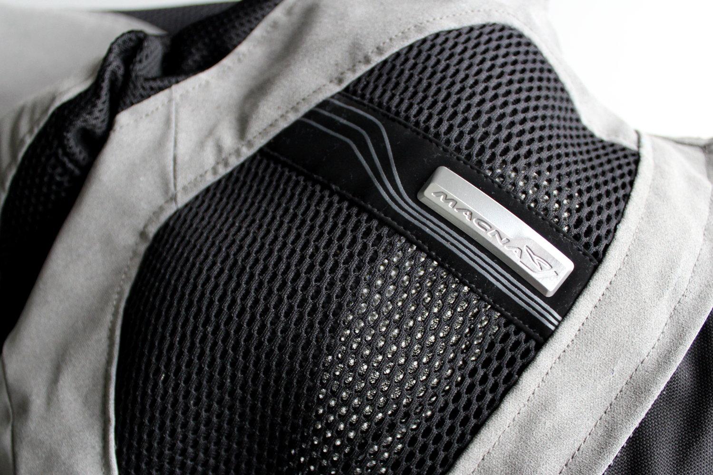 Textile mesh blouson moto