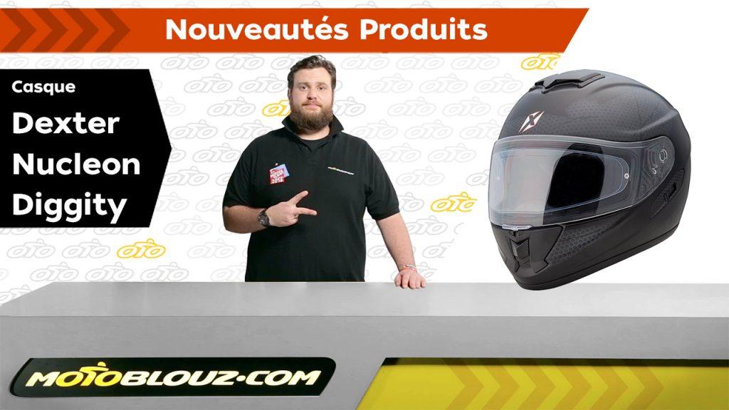 Casque Dexter Nucleon, la vidéo de présentation Motoblouz, par Bruno !